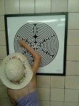 Holly (aged 7) spots her first Labyrinth!