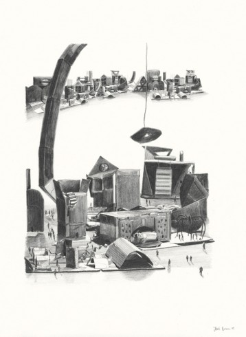 Jessie Brennan, Impossible Buildings, 2009