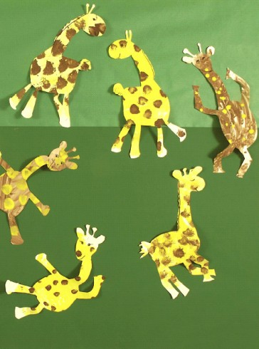 By children at RNIB Sunshine House school - © Pirates and Dancing Giraffes