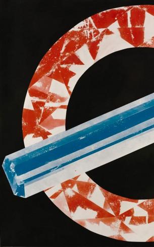 Luke Dowd - Untitled (roundel)