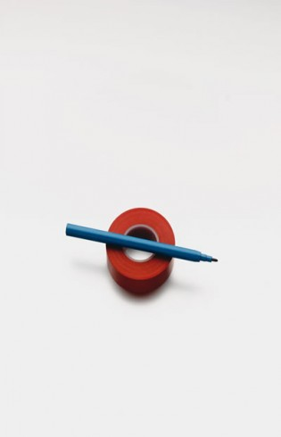 James Ireland - Pen & Tape Roundel