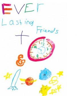 Illustration reading 'Everlasting Friends'