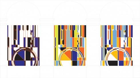 Sarah Morris, Big Ben [2012], 2012  Courtesy Sarah Morris and White Cube
