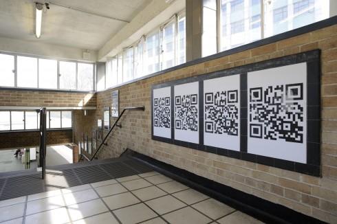 Anna Barham, White City, 2012. White City Underground station. Photograph: Thierry Bal