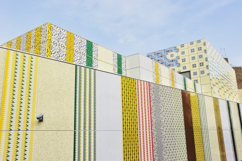 Wrapper, Jacqueline Poncelet, Edgware Road station, 2012 Photograph: Thierry Bal