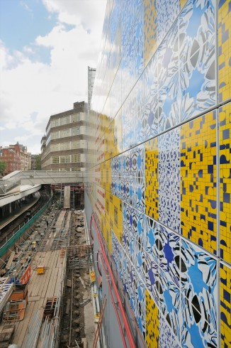 Wrapper, Jacqueline Poncelet, Edgware Road station, 2012 Photograph: Thierry Bal