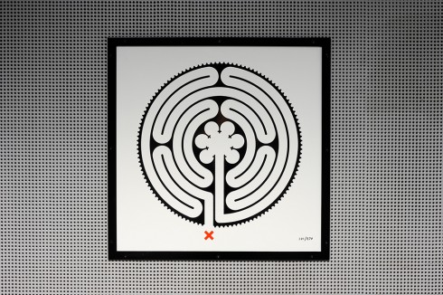 Mark Wallinger, Labyrinth, 2013 Photograph: Thierry Bal 2013 The work copyright the artist, courtesy Hauser & Wirth