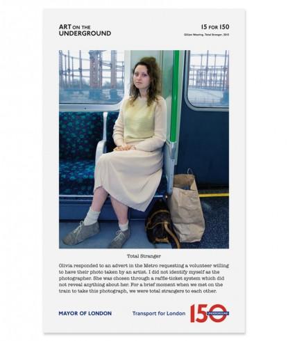 Gillian Wearing Total Stranger, 2013 Edition of 100 £60 inc. VAT