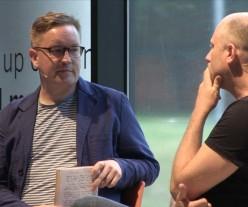 Trevor Paglen being interviewed