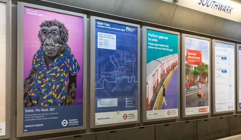 Eddie: Night Tube Map Commission