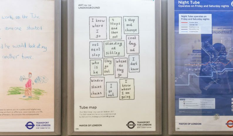 Out Next Stop: Tube Map Cover