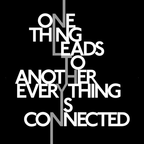 One Thing Leads to Another - Everything is Connected (Richard Long)