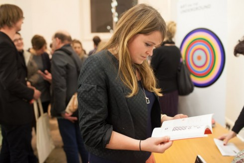 Launch for The Roundel publication, V&A Museum, 30th October 2012. Photograph: Benedict Johnson.