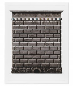 Pablo Bronstein Triumphal arch in honour of Transport for London, 2013 Edition of 50 £250 inc. VAT