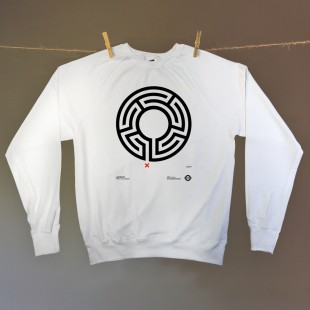 Labyrinth – Unisex crew neck sweatshirt