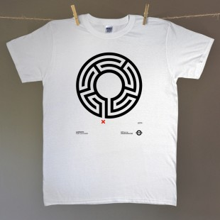Labyrinth – men's t-shirt