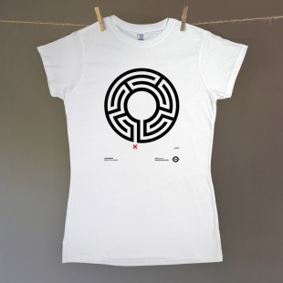 Labyrinth – women's t-shirt