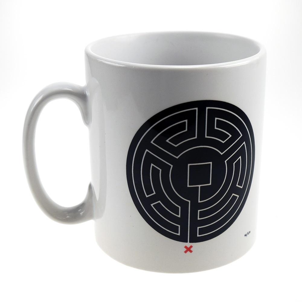 mug with Labyrinth maze on it