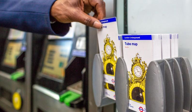 Design for a magnificent London Underground Grand Pendulum in gilt bronze