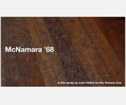 McNamara '68 Poster, Liam Gillick, 2015. Underline series