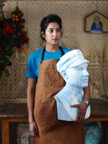 Portrait of Jasleen Kaur. Photograph Jake Curtis