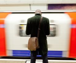 Victoria line platforms at Oxford Circus / TfL