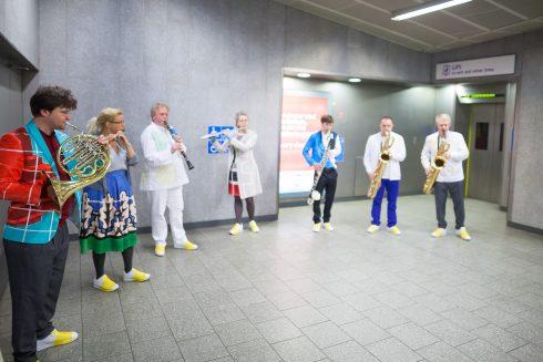 We Happened to Travel, Matt Rogers, Victoria line, 2016.  Photo: Benedict Johnson