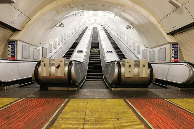 Art Night: Disused Jubilee Line, Charing Cross Underground station