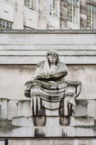 St.James Park station, Jacob Epstein, 1929