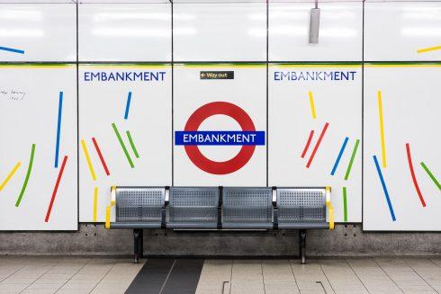 Embankment station, Robyn Denny, 1988