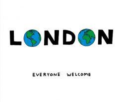 London: Everyone Welcome, David Shrigley, 2016