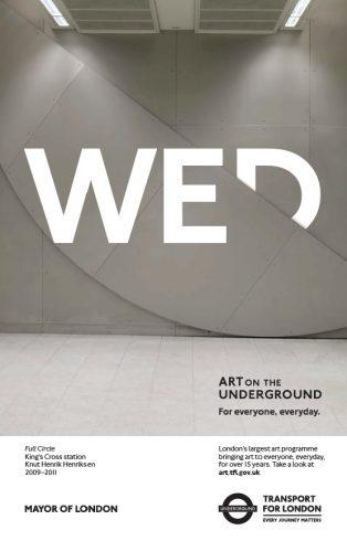 Full Circle, Knut Henrik Henriksen for Art for Everyone, Everyday, 2016