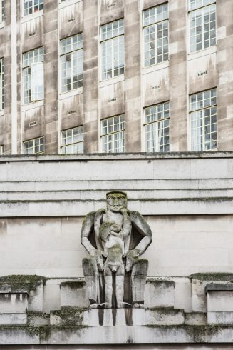 Day, Jacob Epstein, 1929. Photo; Thierry Bal, 2016