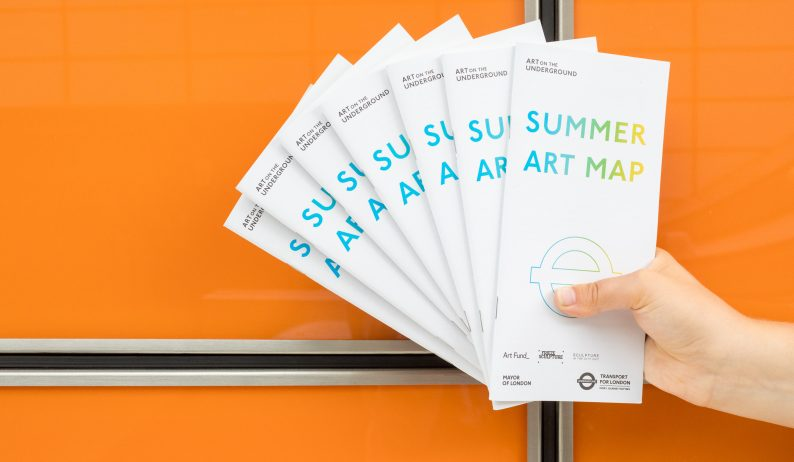 Summer Art Map