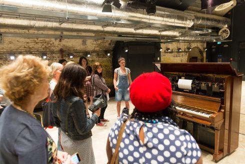 Emma Smith, Televox, performed 15 July 2017 at the Village Hall, Battersea Power Station, Photo: Benedict Johnson