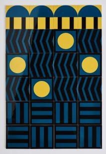 Blackhorse Road | 24 hand screen-printed tiles designed by Design Work Leisure