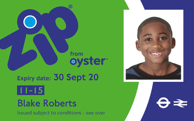 11-15 Zip Oyster Card