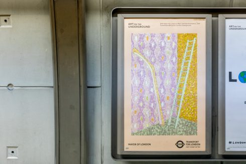 Marc Camille Chaimowicz, Pocket Tube Map cover, 2017. Photo: Benedict Johnson, 2017