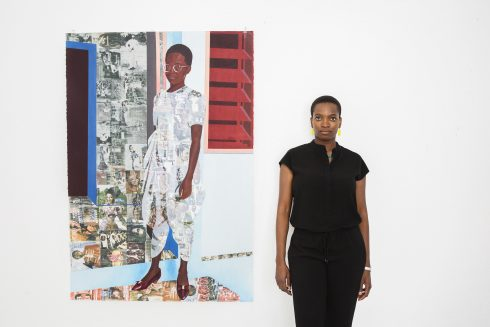 Njideka Akuyili Crosby, 2016 © Brigitte Sire Courtesy the artist and Victoria Miro, London / Venice