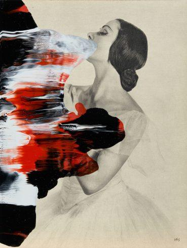 Linder, Superautomatisme Ballets Russes VII, 2015. Image courtesy Linder / Modern Art