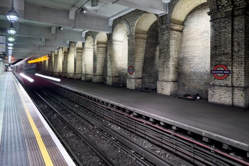 Gloucester Road disused platform. Photo: G.G. Archard, 2017