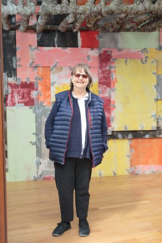 Phyllida Barlow, 2017. Image courtesy the artist and Hauser & Wirth