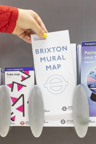Brixton Mural Map, 2018. Photo: Benedict Johnson, 2018