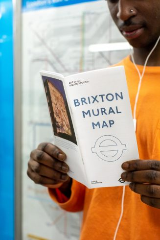 Brixton Mural Map, 2018. Photo: Benedict Johnson, 2018