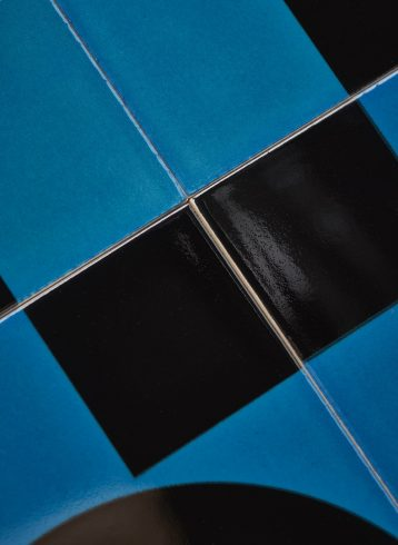 Victoria tile set, Design Work Leisure, Giles Round, 2019. Photo: Peter Schiazza