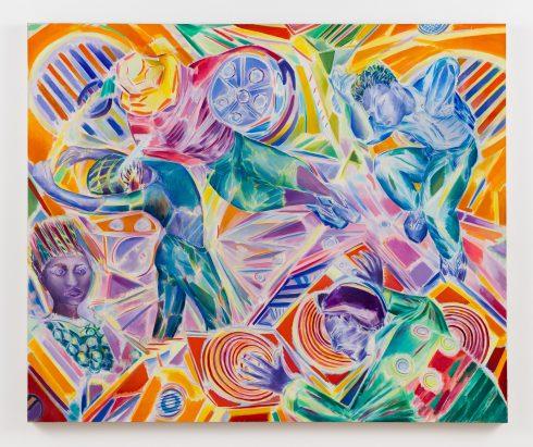 'All Hands on Deck' 2003  © Denzil Forrester. Courtesy the artist and Stephen Friedman Gallery, London
