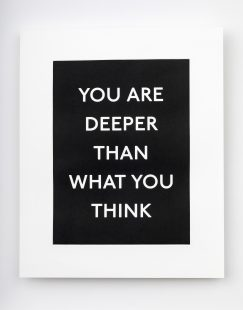 You are deeper than what you think, 2019