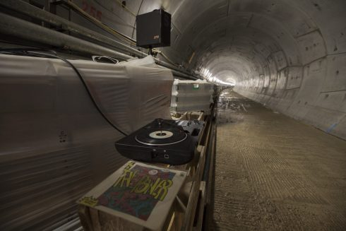 Southbound tunnel, July 2018. Credit: John Zammit, NLE Construction Photographer