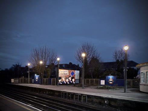 Lucy McKenzie, Pleasure's Inaccuracies, Sudbury Town Station, 2020. Commissioned by Art on the Underground. Photo: GG Archard, 2020
