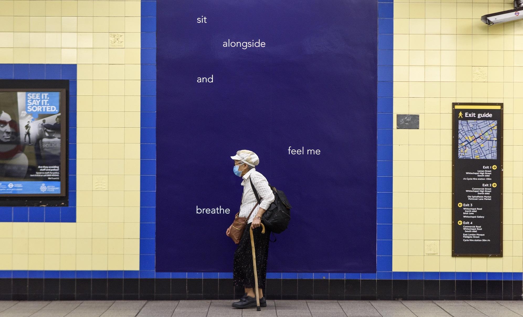 Helen Cammock, 2021 - Art on the Underground